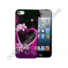 iphone5 plastic case with aquarelle