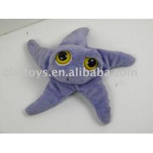 étoile de mer en peluche et en peluche