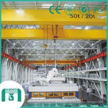 Grúa de arriba modelo 2016 de Qd con la capacidad del gancho 300/75 toneladas