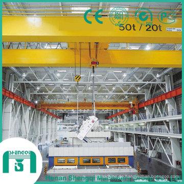 2016 Qd-Modell-Laufkran mit Haken-Kapazität 32/5 Tonne