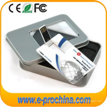 Großhandel USB Card Drive Kreditkarte USB-Stick für kostenlose Probe