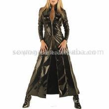 Sexy PVC Long Coat
