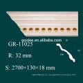 Alta Densidad Impermeable Decoración Interior Materiales PU Foam Flower Molding