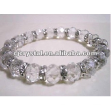 Clear Diamond Beads Bracelet