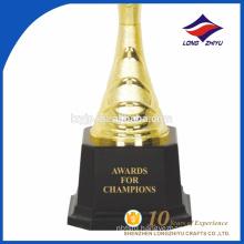 Shenzhen factory cheap gold souvenir trophy cup