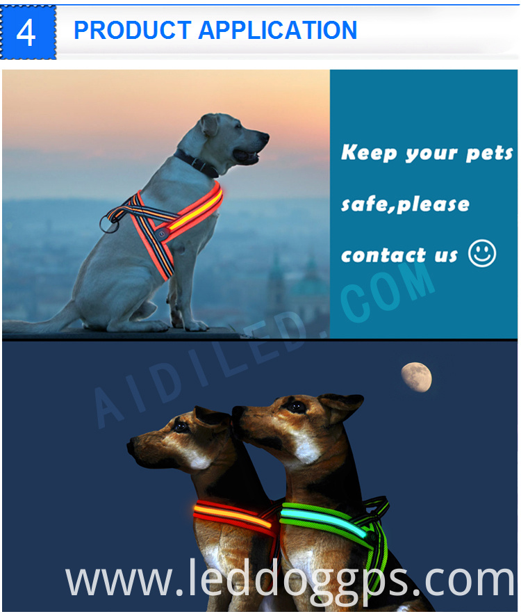 Light Dog Harness