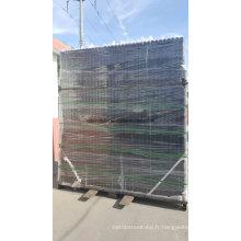 Panneau de clôture en acier plaqué en poudre 2400X1200mm