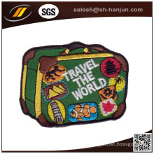 High Quality Latest Customized Embroidery Patch Velcro Backing Patch