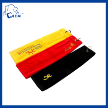 100% Cotton Embroidery Golf Towel (QHG7756)