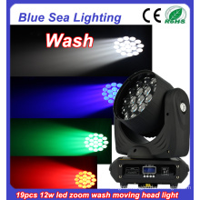 DJ disco 9pcs RGBW dmx512 wash mini led moving head zoom