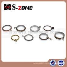 Alibaba accessoires de rideau en gros anneau d'oeillet de rideau