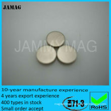 Ímãs de neodímio 3mm x 1mm