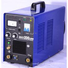 Máquina de soldagem MIG / MMA do inversor MIG200fs