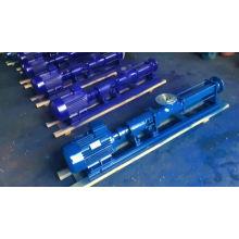 Einstufige Schraubenspindelpumpe für hochviskoses Schweröl Exzenterschneckenpumpe