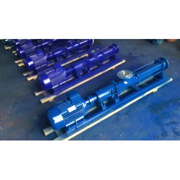 Bomba de tornillo de una etapa para aceite pesado de alta viscosidad Bomba de tornillo rotativa excéntrica