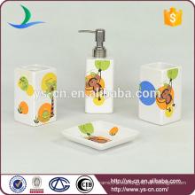 Monkey Animal Design Ceramic lindo baño accesorios para niños
