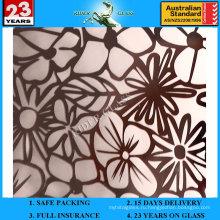 3-6мм АМ-78 декоративное Кисловочное Травленое матовое художественного архитектурного зеркало
