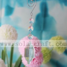 15.5CM Length Plastic Chandelier Transparent Lamp Prisms