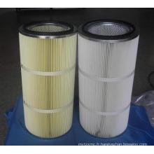 Fabrication de cartouches de filtre à air en polyester soudé