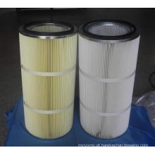 Cartucho de filtro à prova de água e anti-óleo para despoeiramento