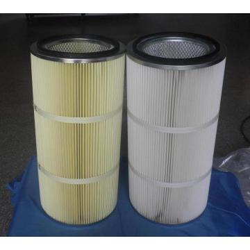 Cartouche filtrante anti-eau et anti-huile pour le dépoussiérage