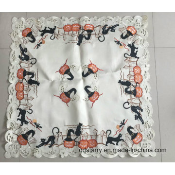 Embroidery Halloween Table Cloth 2016