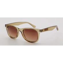 Unisex-Sonnenbrille mit quadratischem Rahmen aus Kunststoff