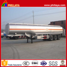 Gooseneck 50 Cbm Capacity 3 Axles Fuel Tanker Semi-Trailer