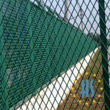 Покрынная PVC Расширенная Загородка ячеистой сети