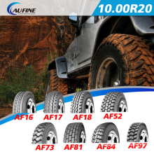 Caminhão e ônibus pneu Radial, pneus de borracha com Gcc