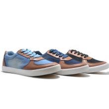 Denim Canvas High Quality Vulcanization Leisure Men Rubber Shoes