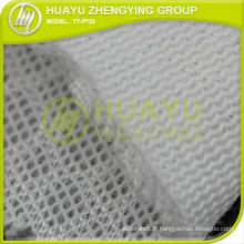 YT-P723 100 Polyester Tricot 3D Air Mesh Fabric Pour le textile domestique