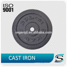 Cast iron weight barbell plates 10lbs