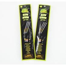 colliers biodégradables de bâton de lueur de 6 pouces