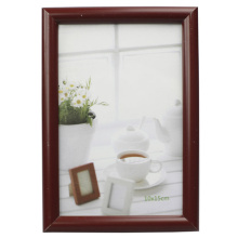 Brown 10x15cm Hot Selling Plastic Photo Frame