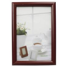 Cadre de Photo en plastique de vente chaude brune 10x15cm