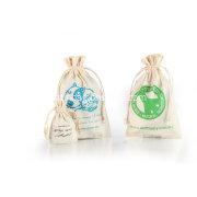 Cotton Muslin Drawstring Bag for health care