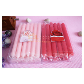 Good User Reputation for Unscented Household Candle, Household Lighting Candle, White Candle, Taper Candle, Spiral Candle, Decorative Candles From China Factory color stick candle for dinner supply to United States Wholesale