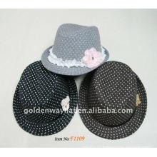 Зимние девушки Модные шерстяные шляпы Панамы