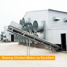 Sistema de ventilación de aire de aves de corral de control de temperatura de alta calidad