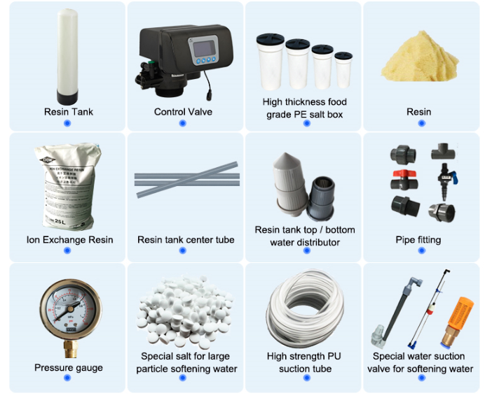 high quality water softener parts
