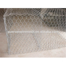 Cheap hexagonal mesh galvanized metal wire mesh gabion box