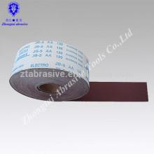 Pas cher prix Multi-purpose Flexible jb-5 rouleau de tissu abrasif jb-5 rouleau de tissu émeri