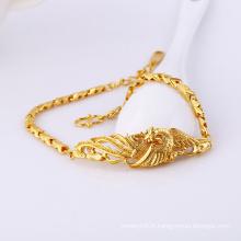 71940 Fashion plaqué or No Stone bijoux Bracelet en cuivre environnemental
