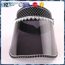 A venda quente projeta o tampão plástico da viseira do sol da venda quente que entrega rápido