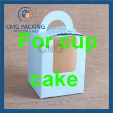 Пользовательские печати Кубок торт Box с чашкой Вставка