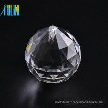 Pendentif boule de lustre en cristal 25mm CP083