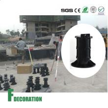 Pedestal ajustable de decking y mármol de plástico