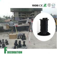 Adjustable Plastic Decking & Marble Pedestal