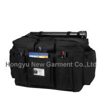 Черная сумка полицейского оборудования